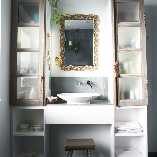 Modern Bathroom Storage