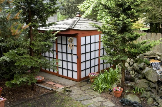 Sheds of potential rated people blog for Japanese garden shed