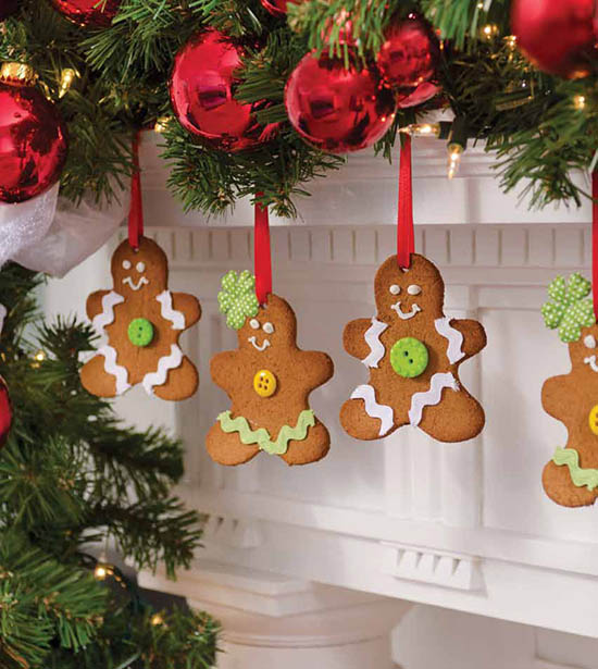 Edible Gingerbread Christmas Tree Decorations : Edible christmas decorations the top rated people