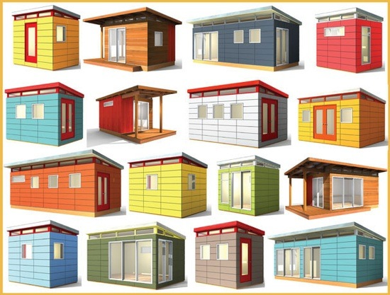 Shed solutions from office space to storage rated for Modern office shed
