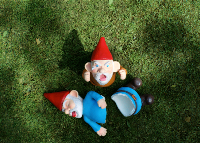 the rise and fall of the garden gnome