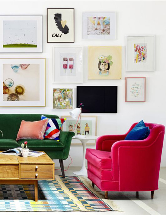 Mixing modern and vintage styles eclectic decor for Drawing room farnichar