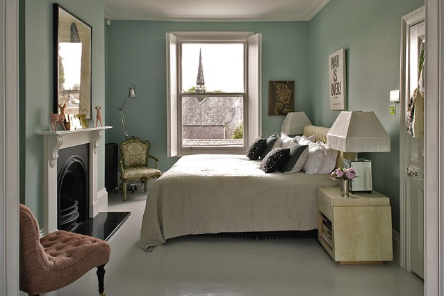 Country bedroom ideas and design rated people blog for Duck egg bedroom ideas