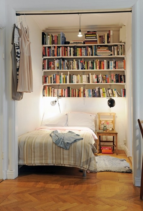 How to make your small bedroom look bigger Maximise storage small bedroom
