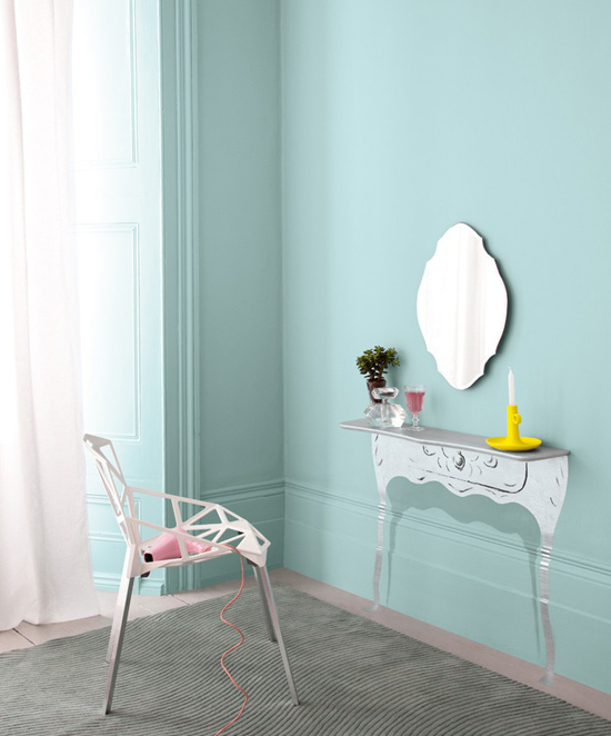 Wallpaper vs paint variety durability cost use in - Crown paint colours for living room ...