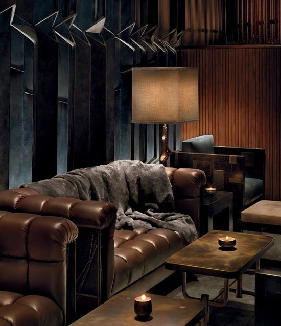 Toning Down The Godfather Masculine Home Design Rated