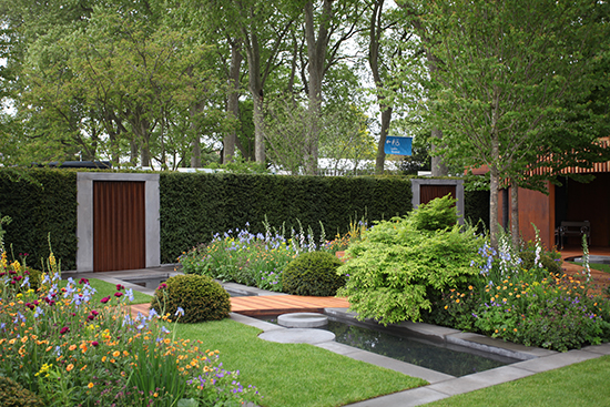 Best show gardens at chelsea flower show 2015 rated for Contemporary gardens