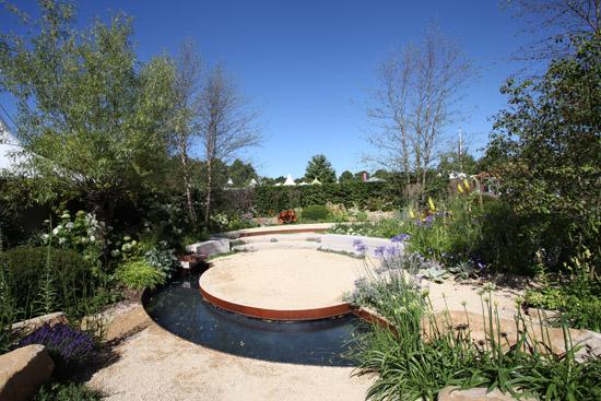music themed garden