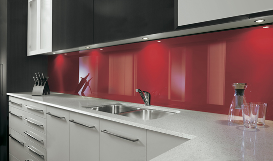 bright splashback