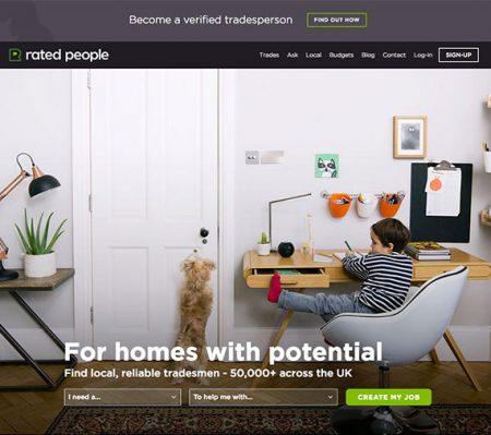 new homeowner homepage