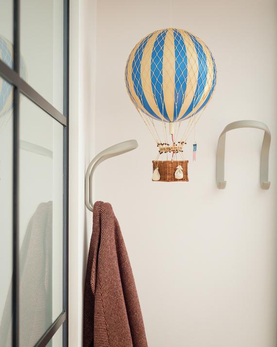 hot air balloon hallway decoration