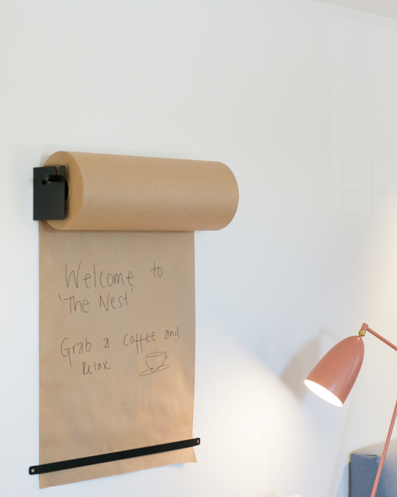 wall-mounted memo idea