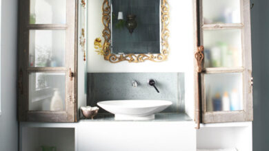 Photo of Bathroom storage solutions