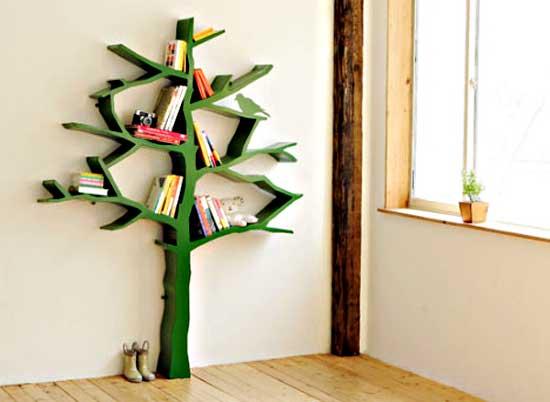 bookshelf tree
