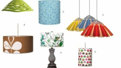 Photo of Quirky lamp shades for minimalist homes