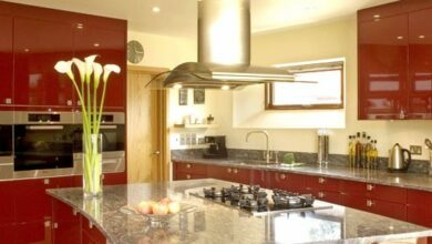 Photo of Pet hates and things that date – the glossy red kitchen