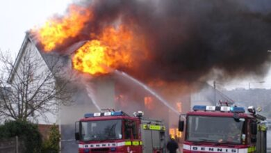 Photo of Kent fire may emphasise importance of electricians