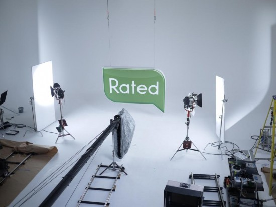 Rated People TV ad shooting
