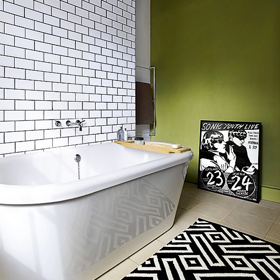 White-tiled-and-green-bathroom
