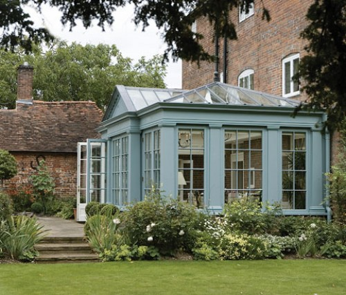 Your guide to building a conservatory rated people blog for Garden design georgian house
