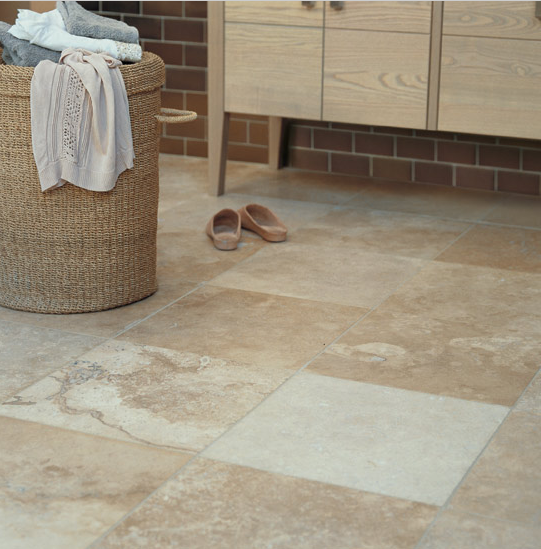 Stone Tiled Bathroom Floor Part 98