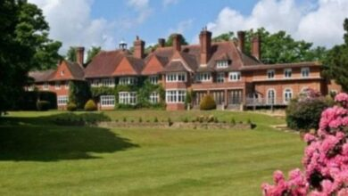 Photo of Adele's new house – a £7 million country mansion