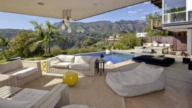Photo of Justin Bieber's Hollywood Hills house