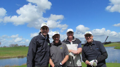 Photo of Rated golf – we tee'd off with some of our Rated tradesmen