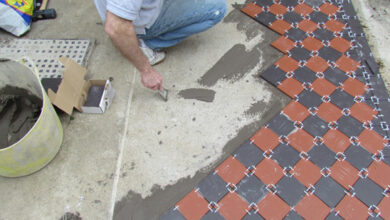Photo of How to lay Victorian tiles