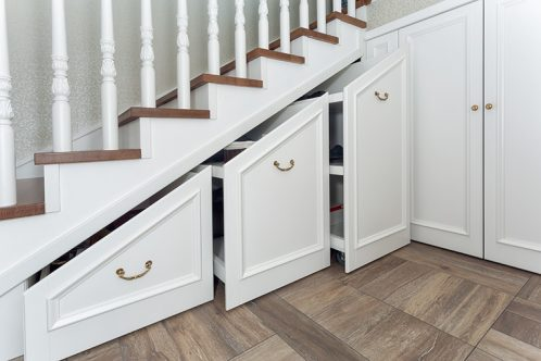 understairs storage in wite & Understairs storage ideas - functional and creative solutions for ...