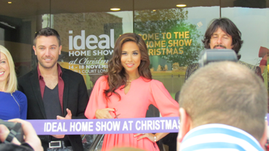 Photo of Ideal Home Show at Christmas 2012