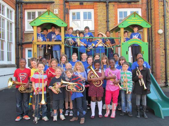 Southwark Children's Brass Band