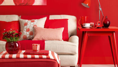 Photo of Celebrating the best and the worst of red interiors