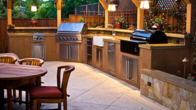 Photo of Creating an outdoor kitchen