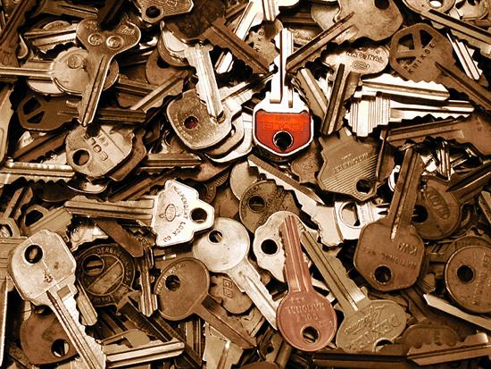 lots of old keys