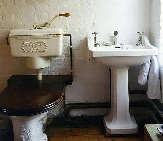 old fasioned loo