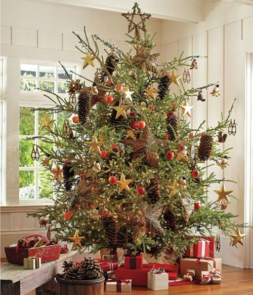 real vs artificial christmas trees - Real Christmas Tree Decorated