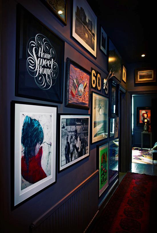 Add art to your hallway
