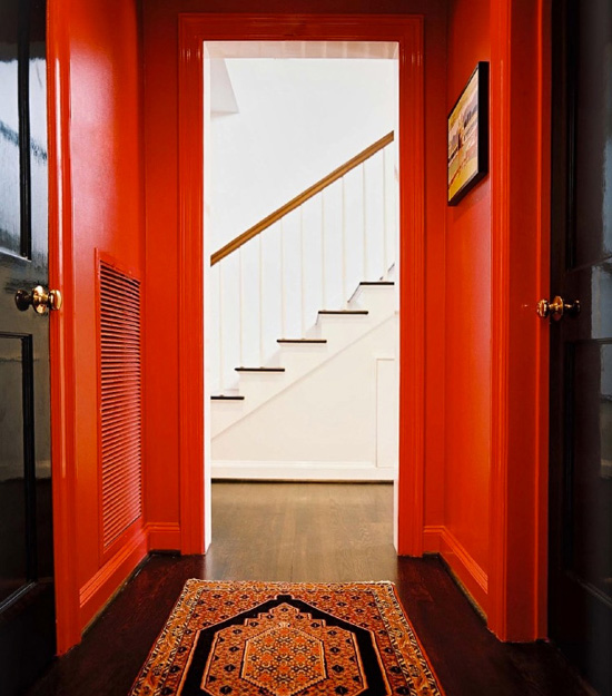 Add Colour to your hallway