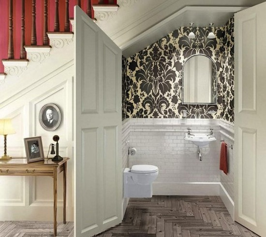 How to add value by adding a downstairs toilet for Small loo ideas