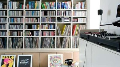 Photo of Vinyl collection – custom storage is a must