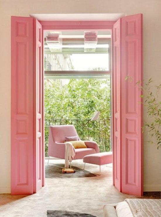 Pink interior design idea
