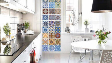 Photo of 7 ways to pull off the patchwork tile trend