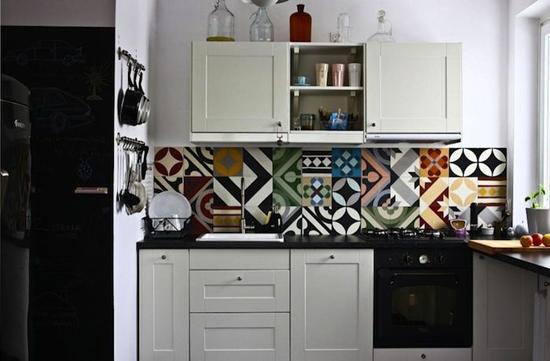 patchwork tiles backsplash resized