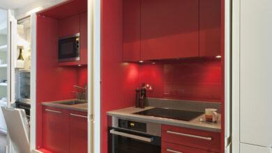 Photo of Modern Kitchen Design: Hidden Kitchens