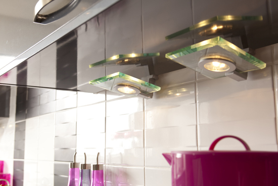 Betta Living kitchen downlights