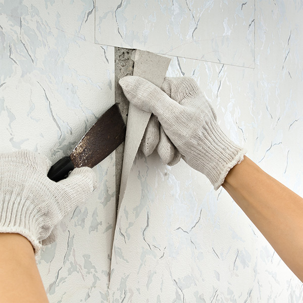 How To Remove Tough Or Old Wallpaper