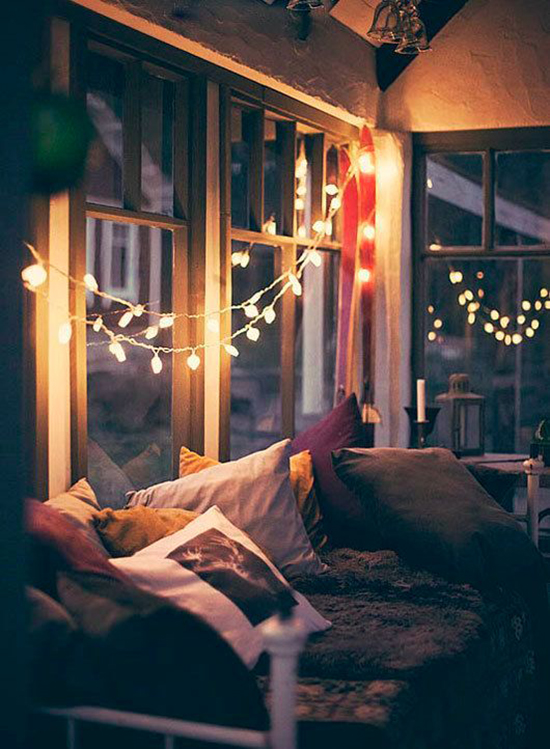 pretty lights in the home