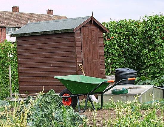 basic garden shed