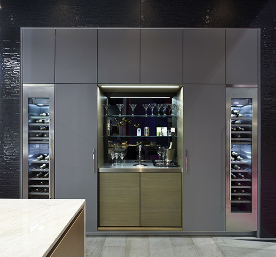 Kitchen Perfection With Poggenpohl: Smart Kitchen Solutions For Wine And Drinks